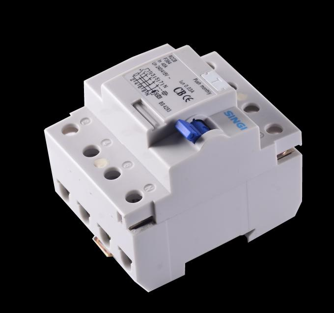 Interruptor do escapamento da terra do CE/CB Certifcate F364 RCCB/RCD/RCBO